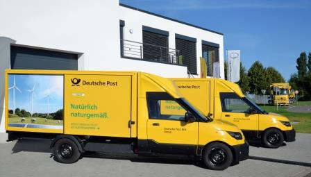 Der StreetScooter der Deutsche Post DHL Group