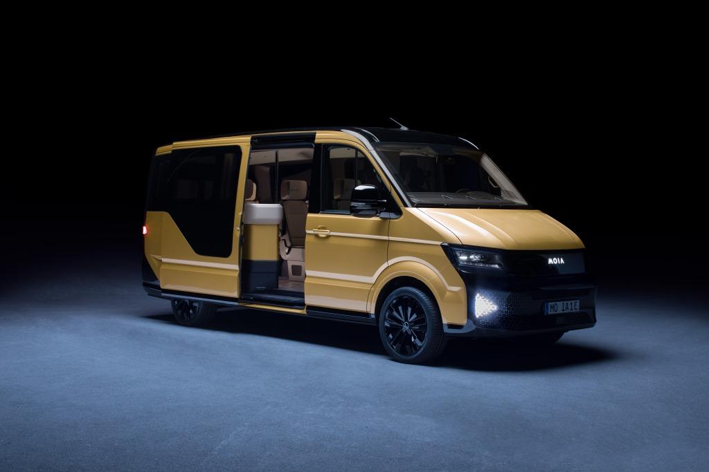 Emobilserver Moia Minibus Feiert Weltpremiere In Berlin