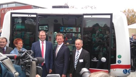 Deutsche Bahn ioki Bad Birnbach autonomes Shuttle 2