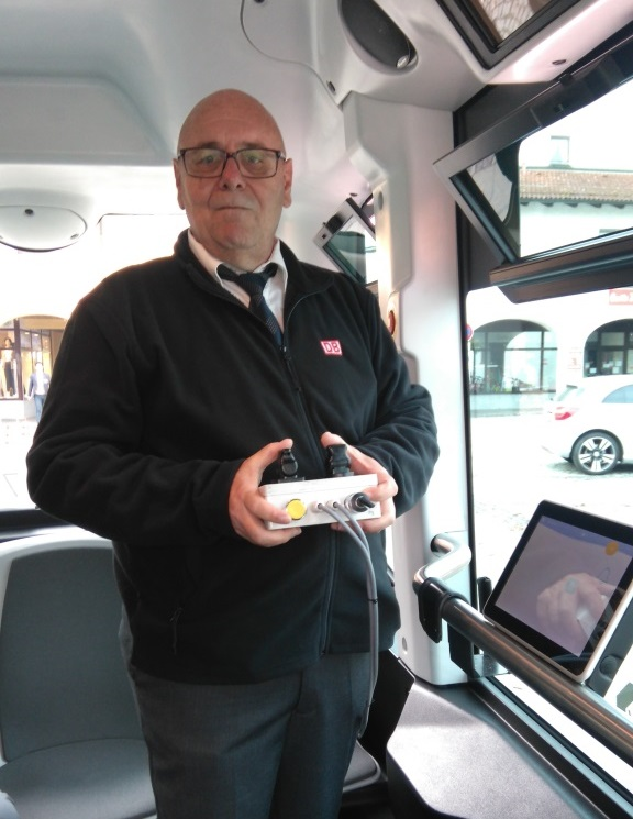 Deutsche Bahn ioki Bad Birnbach autonomes Shuttle 3