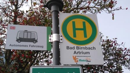 Deutsche Bahn ioki Bad Birnbach autonomes Shuttle 5