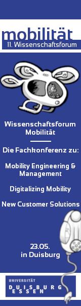 11. Wissenschaftsforum Mobilität - Universität Duisburg-Essen