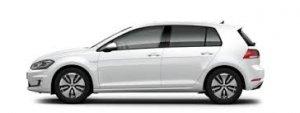 Volkswagen e-Golf © Volkswagen AG