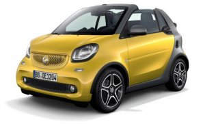 smart fortwo cabrio electric drive © Daimler AG