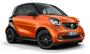 smart fortwo electric drive © Daimler AG