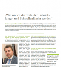 Screenshot Beitrag Deckblatt Interview